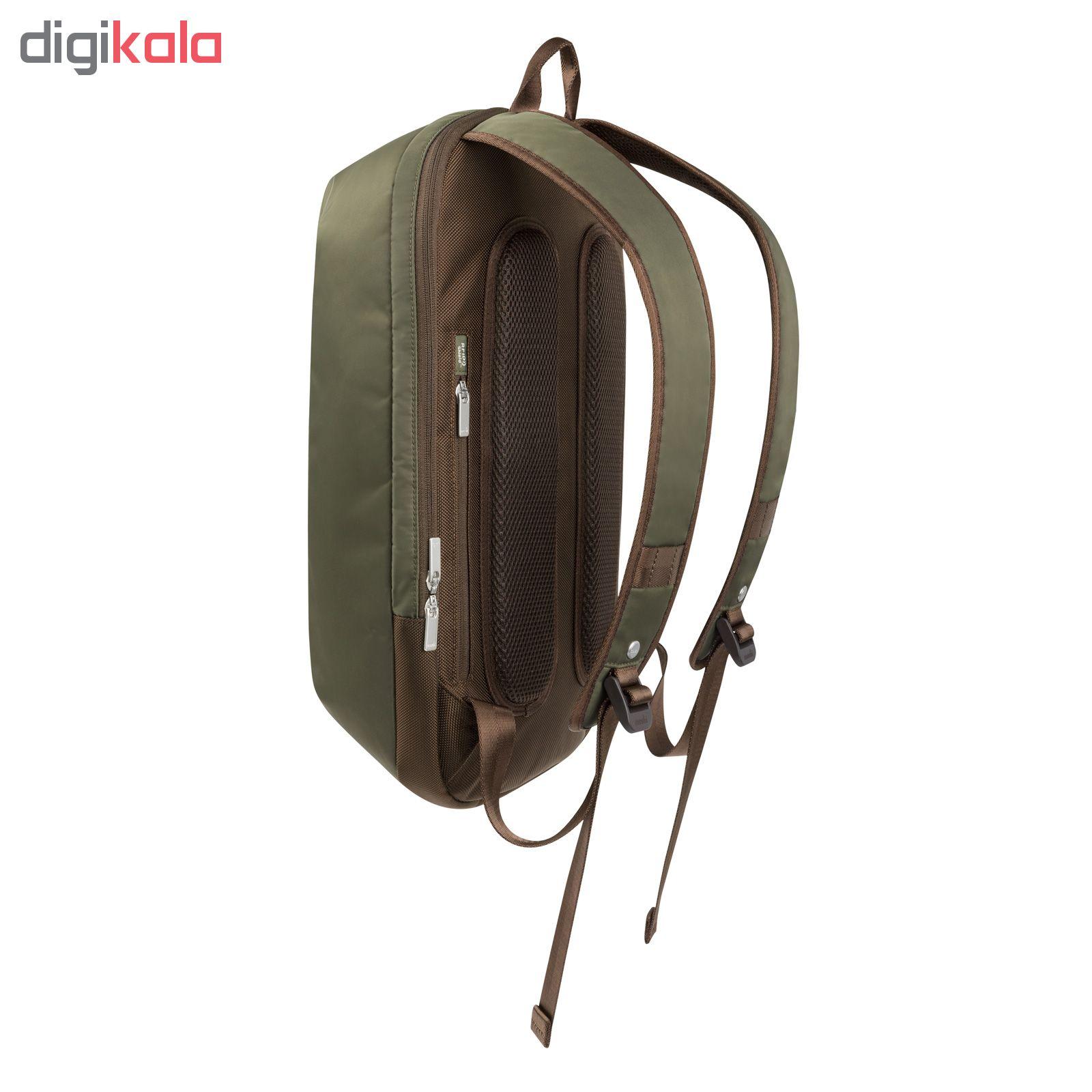 کوله پشتی لپ تاپ موشی مدل Hexa مناسب برای لپ تاپ 15 اینچی