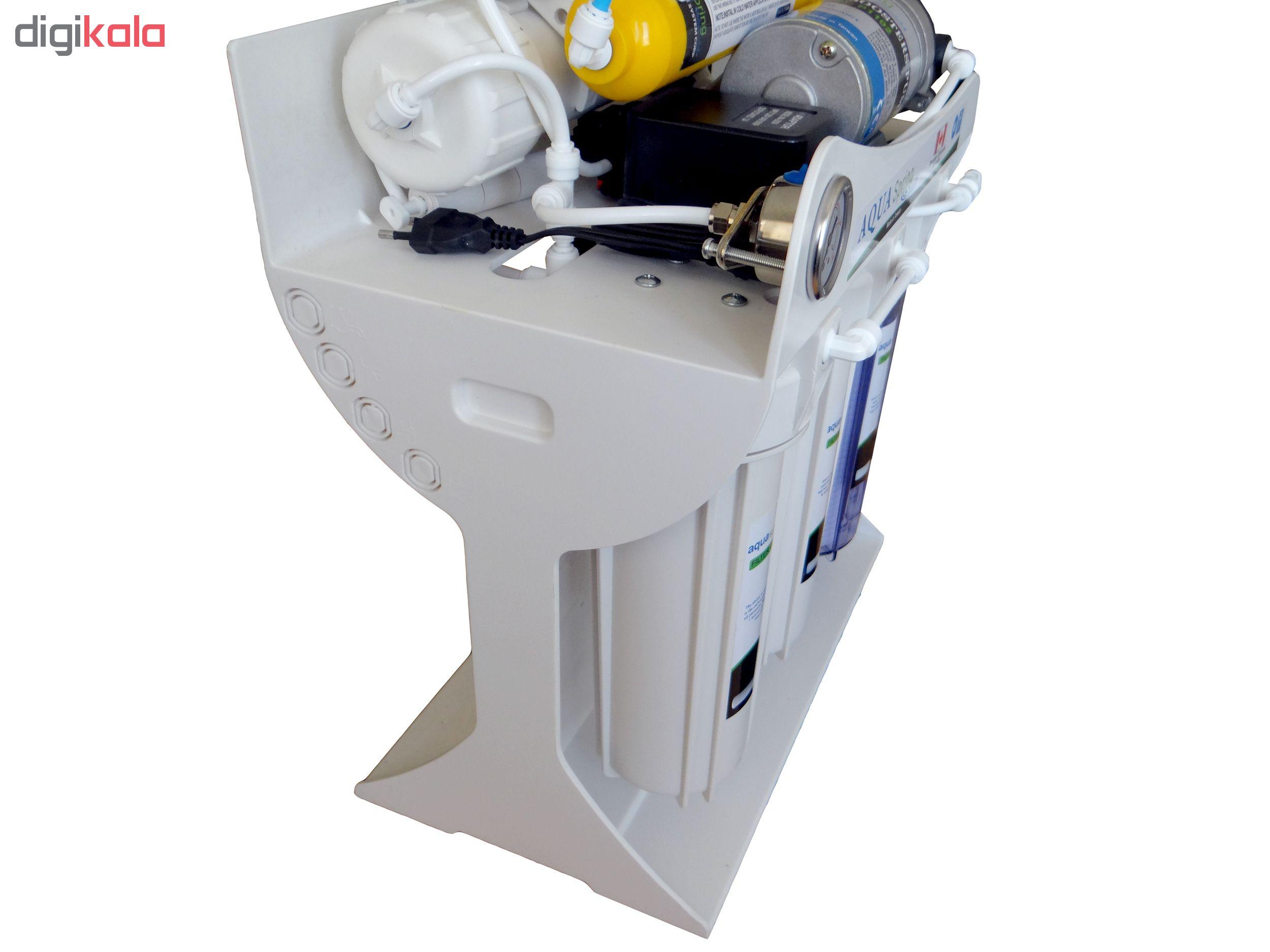 دستگاه دو گانه تصفیه آب آکوآ اسپرینگ مدل UF-SF3200