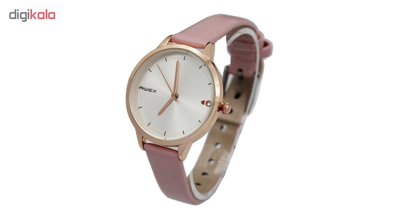 ساعت مچی  زنانه آوکس مدل P8075