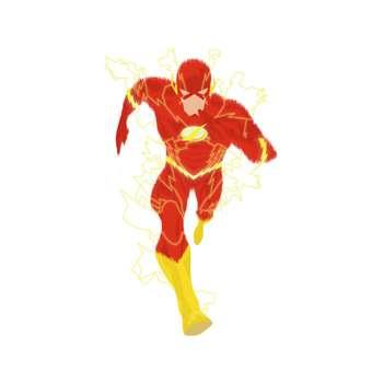 استیکر لپ تاپ طرح  Flash Dc Comics کد STL942