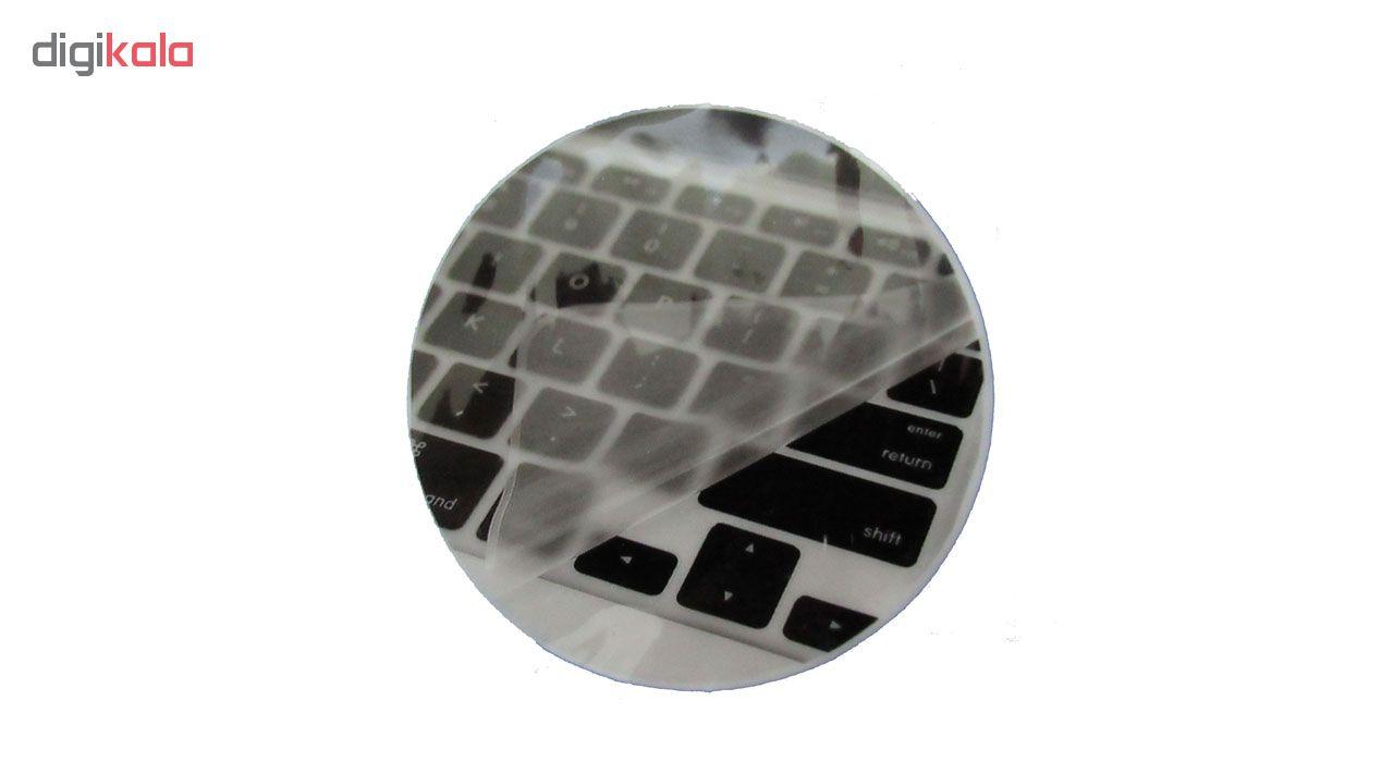 محافظ صفحه نمایش و پشت لپ تاپ مدل TO-501 مناسب برای لپ تاپ 15.6 اینچ به همراه محافظ کیبورد و ماوس پد