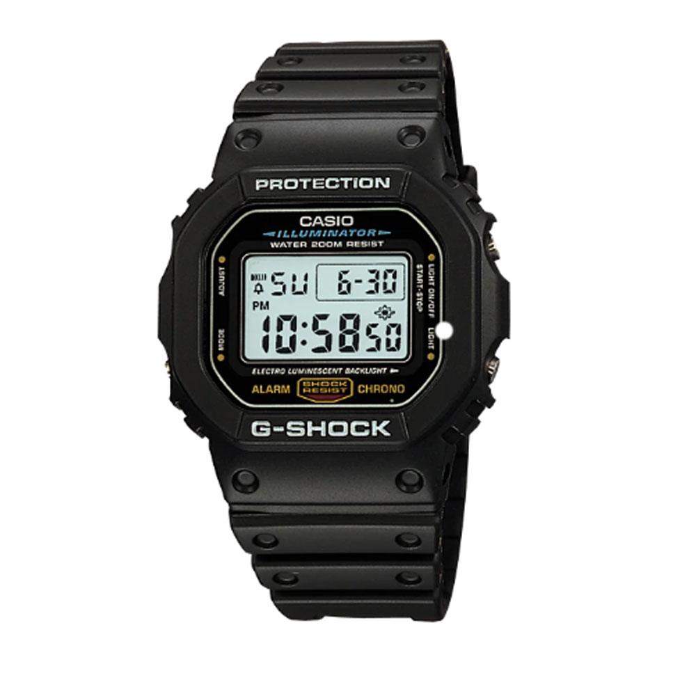 ساعت مچی دیجیتال مردانه کاسیو مدل جی شاک کد DW-5600E-1VQ