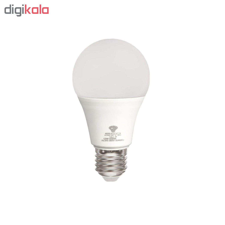 لامپ ال ای دی 12 وات اکو برایت مدل 90LM پایه E27 thumb 2 5
