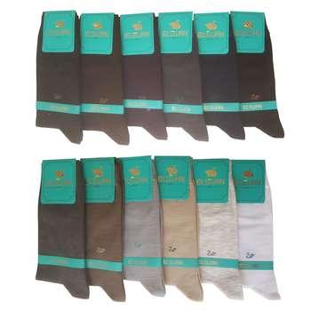 جوراب مردانه ال سون کد PH188 مجموعه 12 عددی