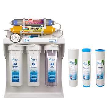 دستگاه تصفیه کننده آب اس اس وی مدل UltraPro X800 به همراه فیلتر دستگاه تصفیه کننده آب بسته 3 عددی