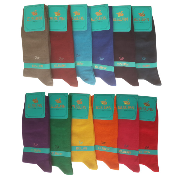 جوراب مردانه ال سون کد PH191 مجموعه 12 عددی