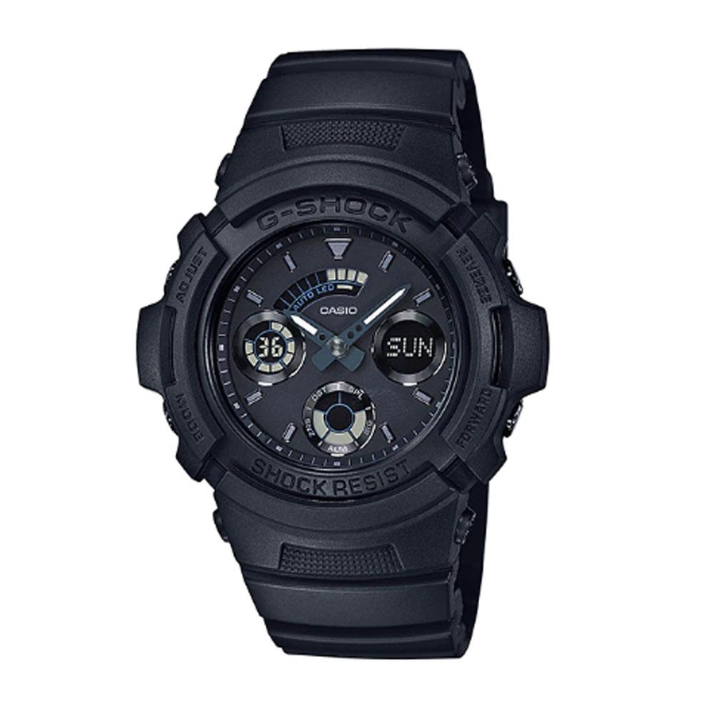 کد تخفیف                                      ساعت مچی عقربه ای مردانه کاسیو مدل جی شاک کد AW-591BB-1A
