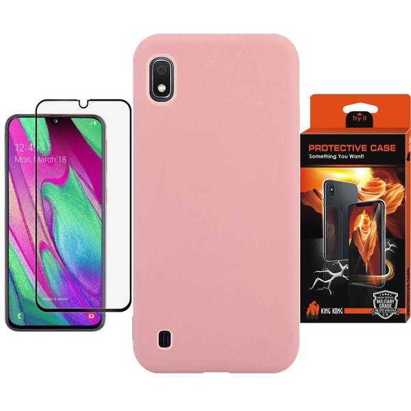 کاور کینگ کونگ مدل SLCN مناسب برای گوشی موبایل سامسونگ Galaxy A10 به همراه محافظ صفحه نمایش