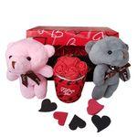 ست هدیه عروسک طرح خرس کد A-123