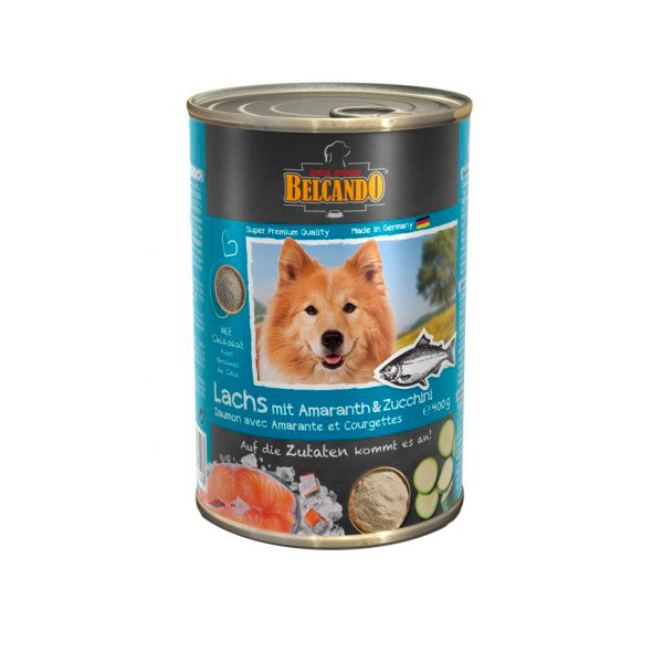 کنسرو غذای سگ بلکاندو کد 12154 وزن 400 گرم