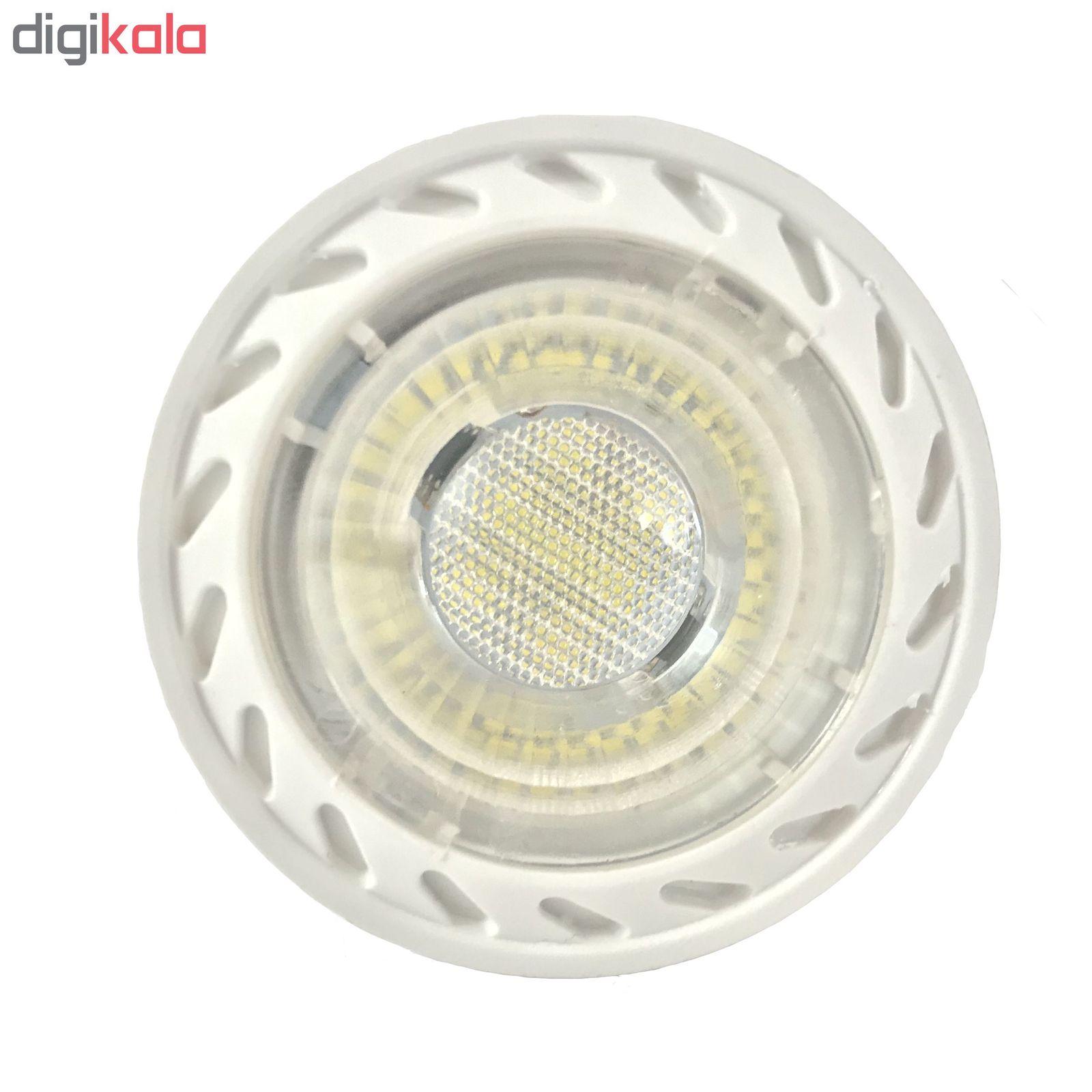 لامپ هالوژن 7 وات مدل TN 002 پایه GU5.3 بسته 10 عددی main 1 1