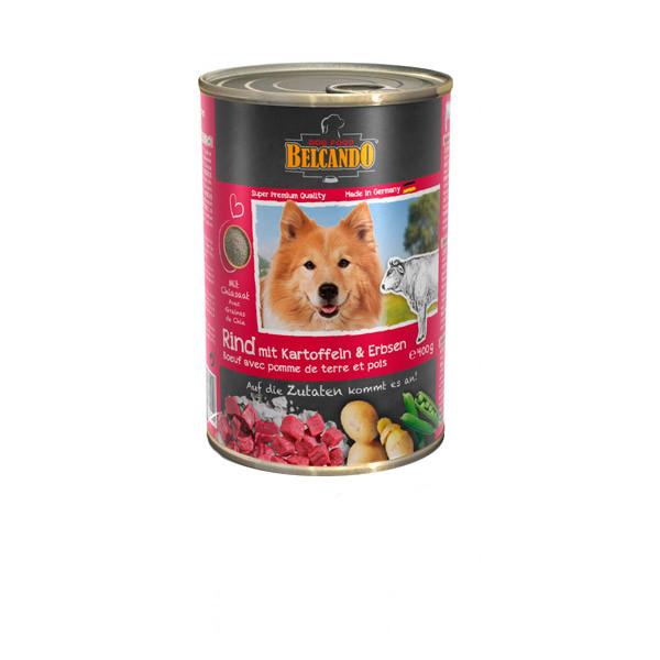کنسرو غذای سگ بلکاندو کد 12147 وزن 400 گرم