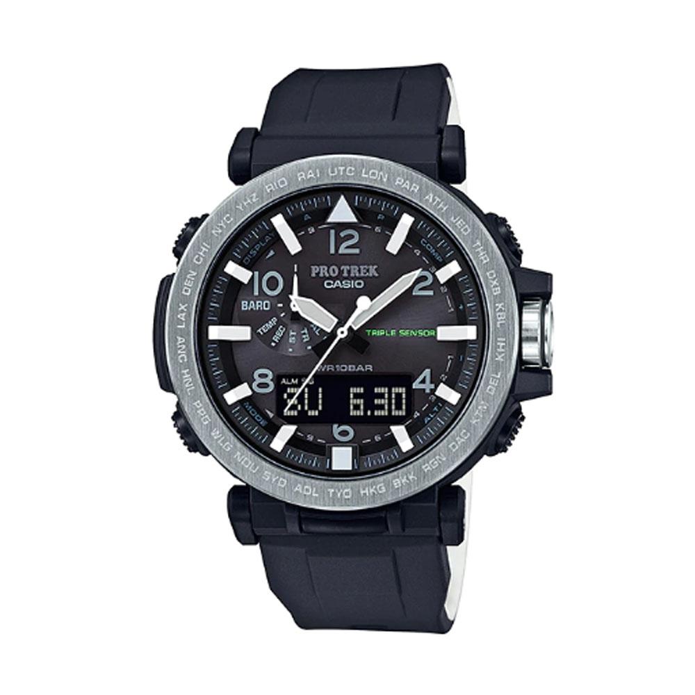 کد تخفیف                                      ساعت مچی عقربه ای مردانه کاسیو مدل پرترک کد PRG-650-1