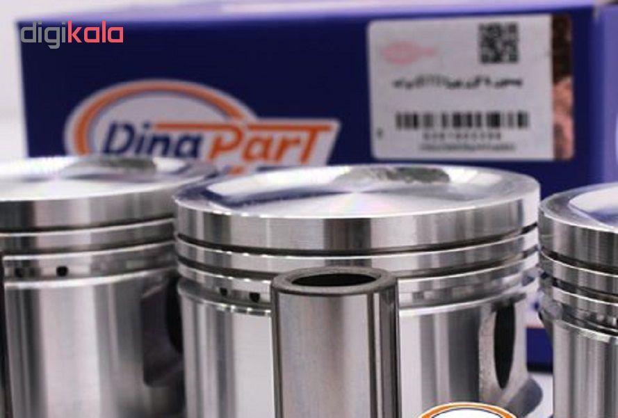 پیستون و گژن پین دیناپارت مدل S25 مناسب برای پراید بسته 4 عددی main 1 3