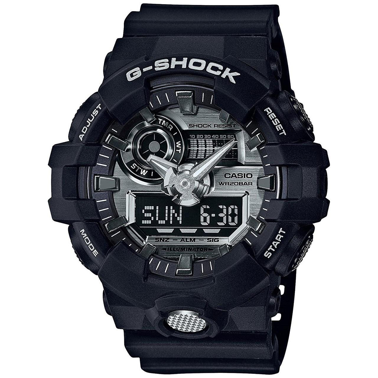 قیمت و خرید                      ساعت مچی عقربه ای مردانه کاسیو جی شاک مدل GA-710-1ADR