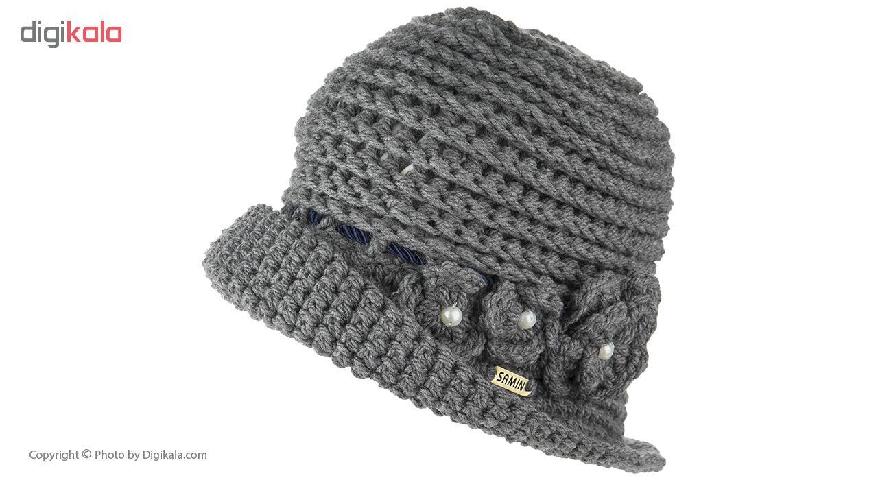 کلاه کلاچ زنانه بافت ثمین مدل Sofia