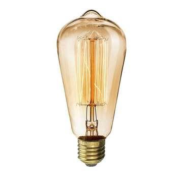 لامپ ادیسونی 40 وات کینگ سو مدل ST64 پایه E27