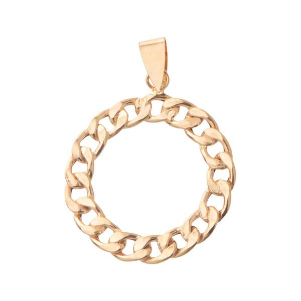 آویز گردنبند طلا 18 عیار زنانه گالری مرجان کد 0905