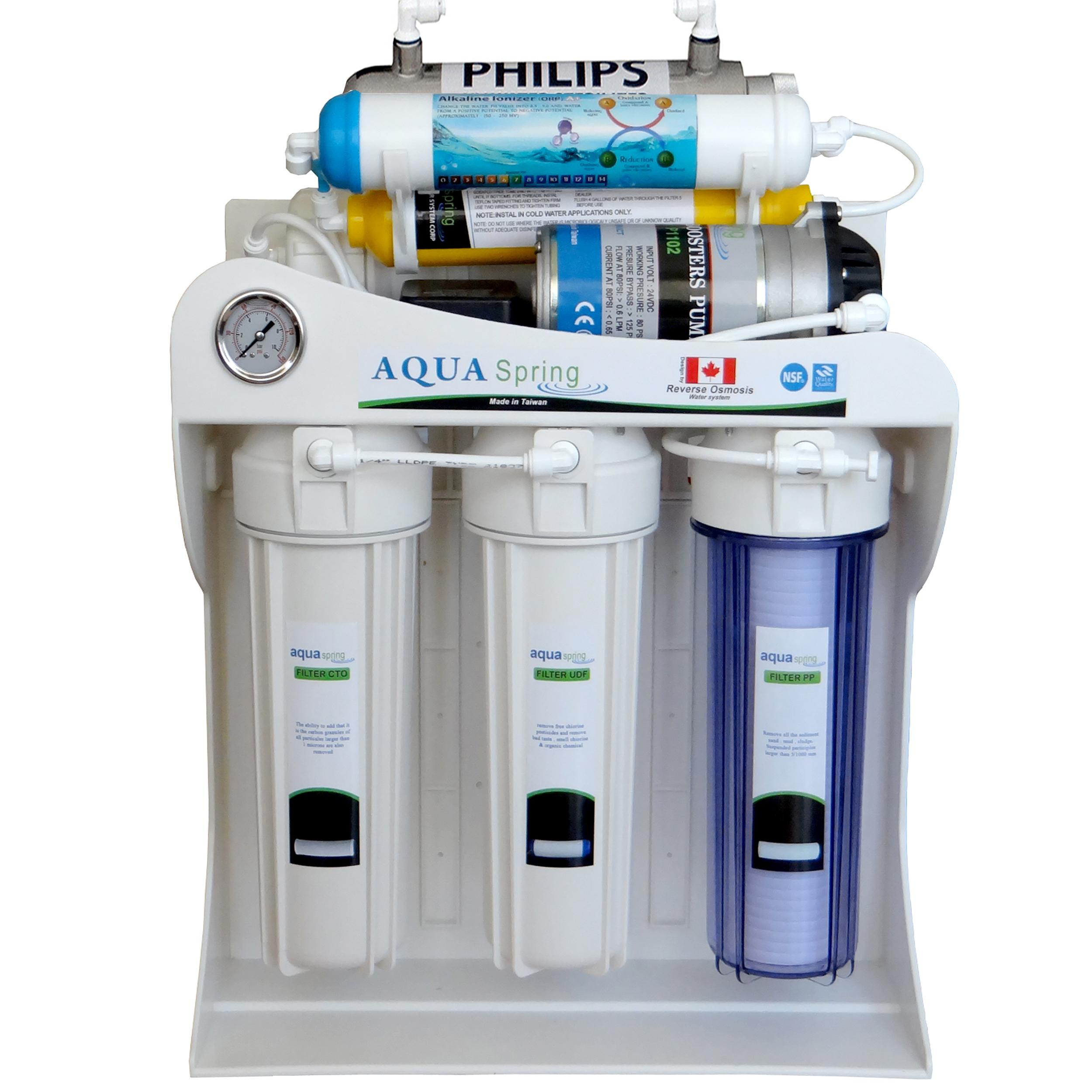 دستگاه تصفیه کننده آب آکوآ اسپرینگ مدل AQ-SF2700