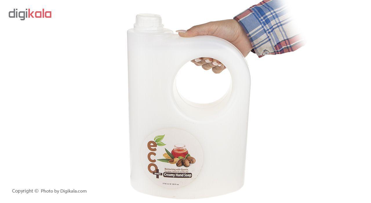 مایع دستشویی ایکو مویست کرمی مدل Almonds حجم 3.75 میلی لیتر main 1 4