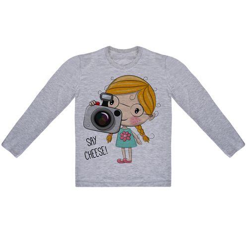 تی شرت آستین بلند دخترانه کد AR19