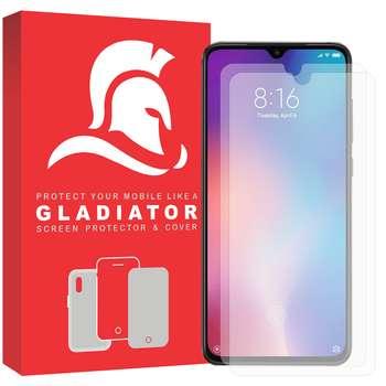 محافظ صفحه نمایش گلادیاتور مدل GLX2000 مناسب برای گوشی موبایل شیائومی Mi a3 بسته دو عددی