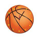 ساعت دیواری کودک ژیوار طرح  توپ بسکتبال thumb