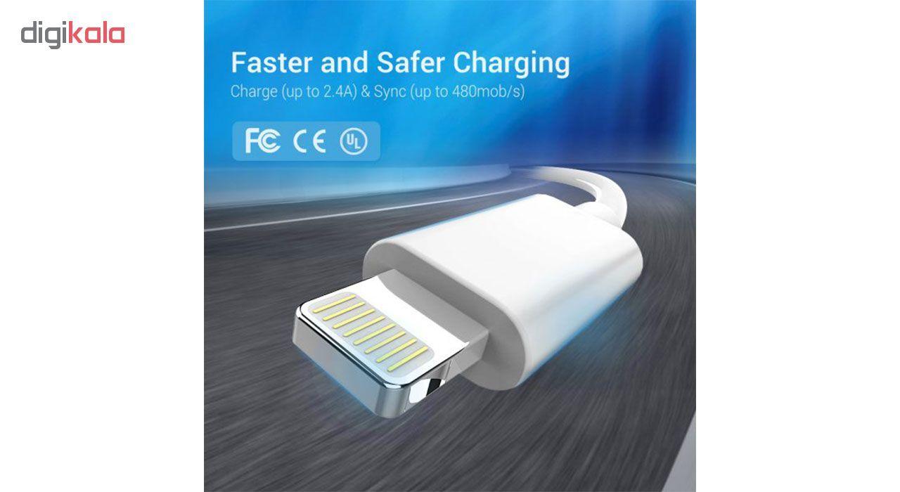 کابل تبدیل USB به لایتنینگ مدل mfi9578c28j طول1متر main 1 3