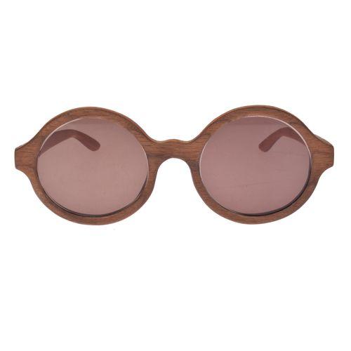 عینک آفتابی وودن آر کد 02