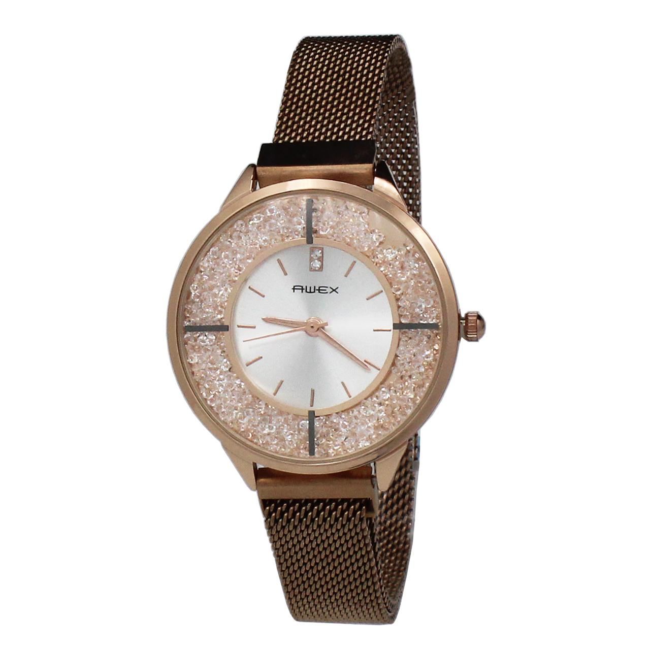 ساعت مچی عقربه ای زنانه آوکس مدل R8012
