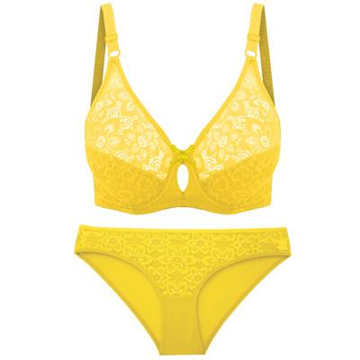 ست شورت و سوتین زنانه مدل ریتا کد 2021ZD رنگ زرد