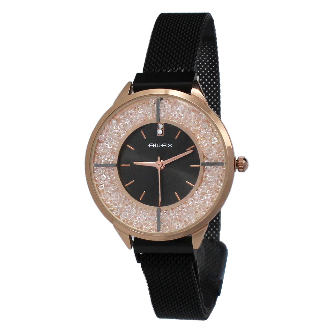 ساعت مچی عقربه ای زنانه آوکس مدل BC8012
