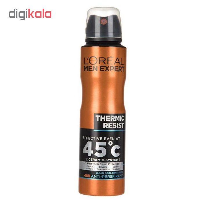 اسپری ضد تعریق مردانه لورآل سری Men Expert مدل Thermic Resist حجم 250 میلی لیتر main 1 1
