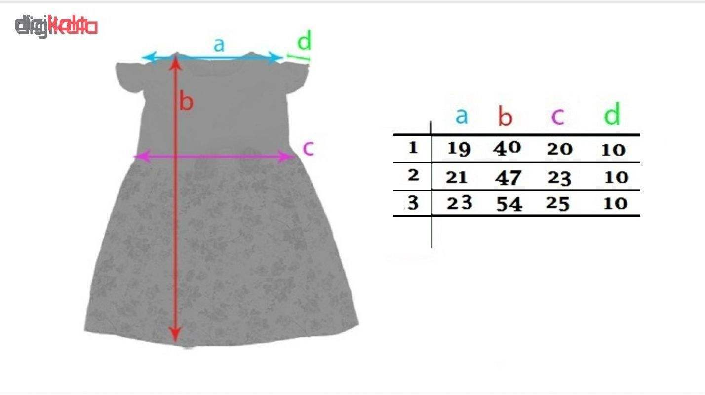 پیراهن دخترانه کد 102.1.5 مجموعه 3 عددی main 1 5