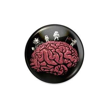پیکسل ماسا دیزاین طرح مغز متفکر کد BA08