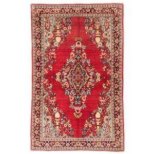 فرش دستباف قدیمی دو و نیم متری سی پرشیا کد 131861