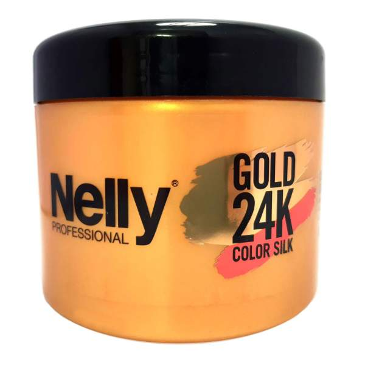 ماسک مو نلی مدل Gold color silk حجم 500 میلی لیتر