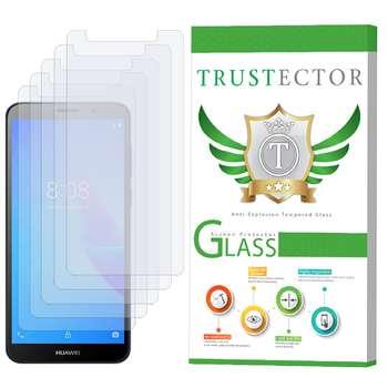 محافظ صفحه نمایش تراستکتور مدل GLS مناسب برای گوشی موبایل هوآوی Y5 lite 2018 بسته 5 عددی