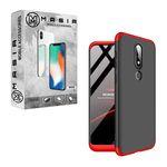 کاور 360 درجه مسیر مدل MGKS6-1 مناسب برای گوشی موبایل نوکیا X6 / 6.1 Plus thumb