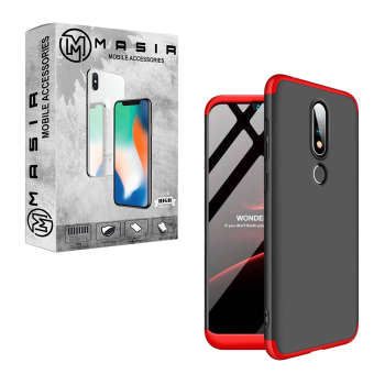 کاور 360 درجه مسیر مدل MGKS6-1 مناسب برای گوشی موبایل نوکیا X6 / 6.1 Plus