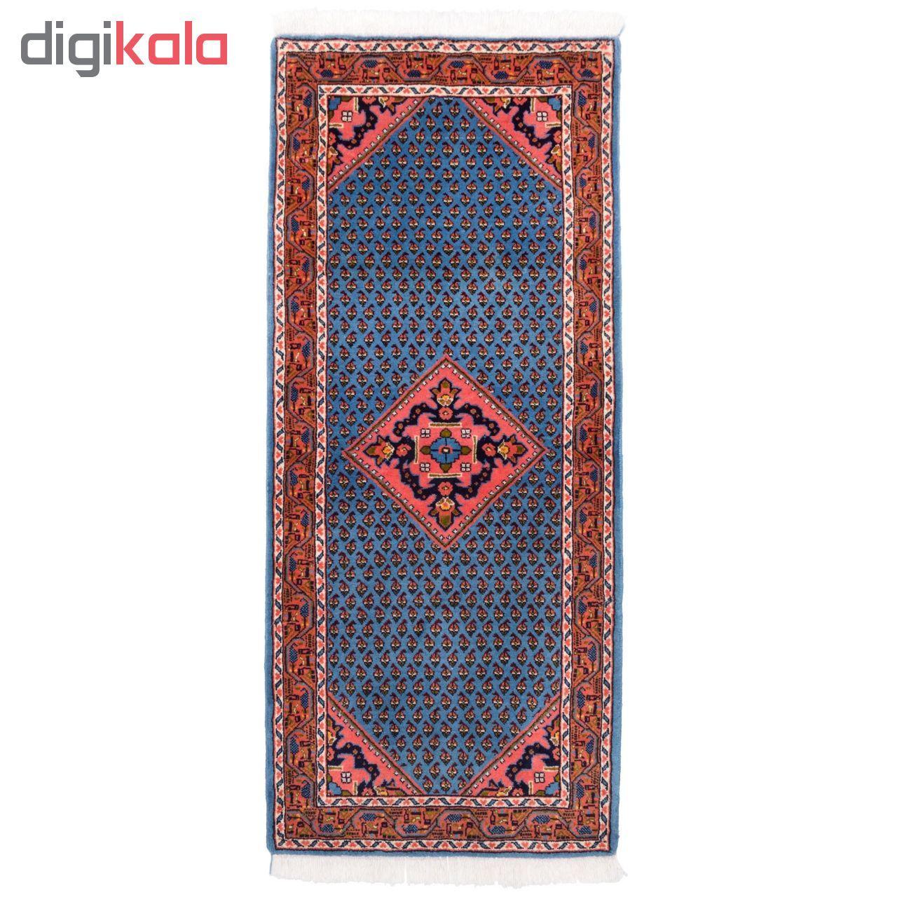 فرش دستباف کناره طول یک و نیم متر سی پرشیا کد 1365