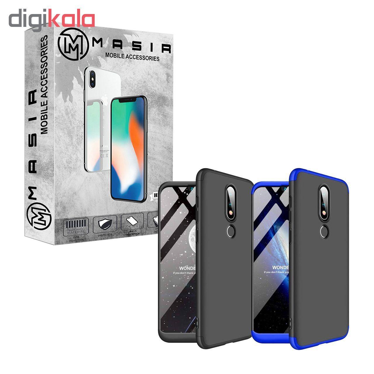 کاور 360 درجه مسیر مدل MGKS6-1 مناسب برای گوشی موبایل نوکیا X6 / 6.1 Plus main 1 1