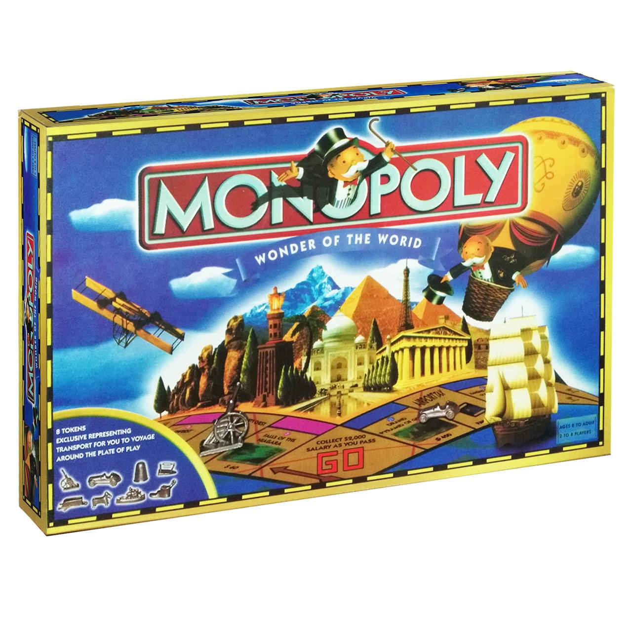 بازی فکری مونوپولی مدل world3007