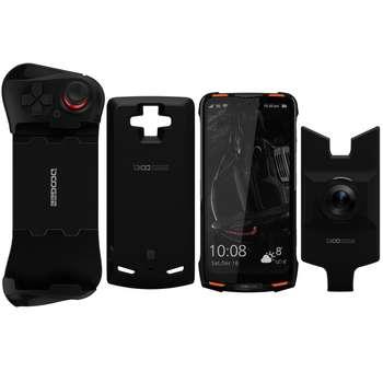 گوشی موبایل دوجی مدل S90 دو سیم کارت ظرفیت 128 گیگابایت همراه با ماژول دوربین عکاسی در شب و گیم پد و پاوربانک