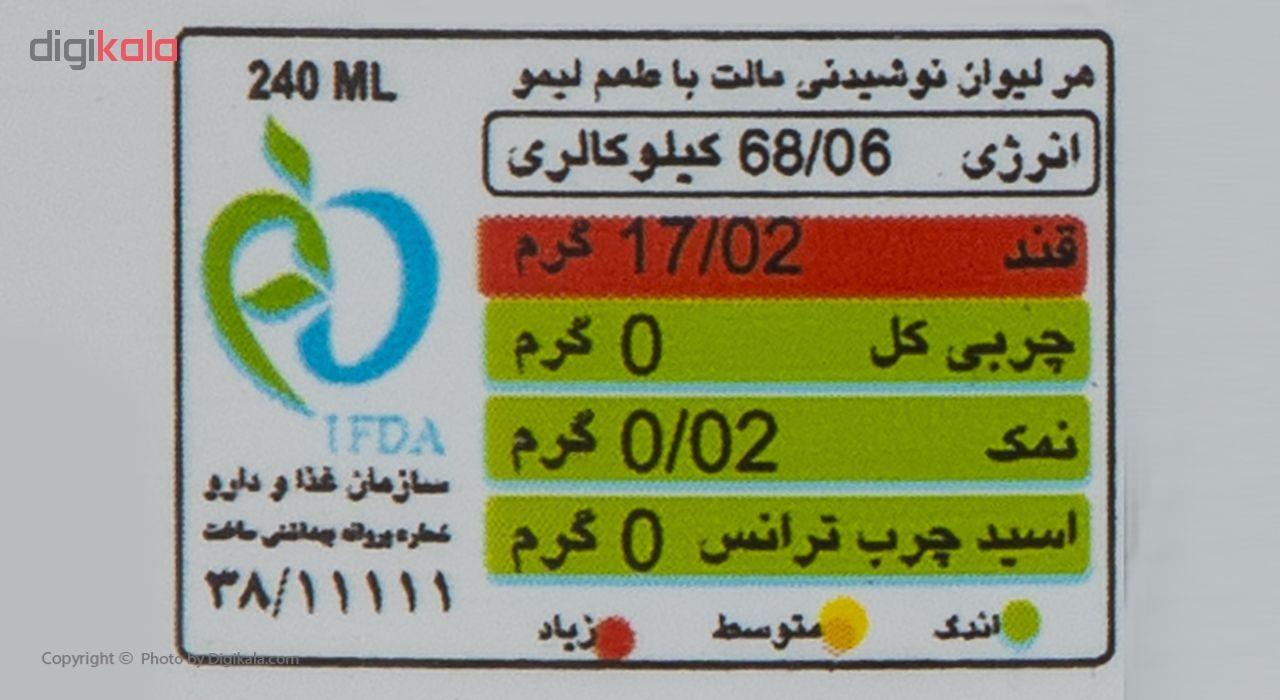 ماءالشعیر گازدار هوفنبرگ طعم لیمو مقدار 1 لیتر main 1 3