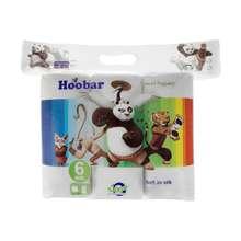 دستمال حوله هوبار مدل Panda بسته 6 عددی