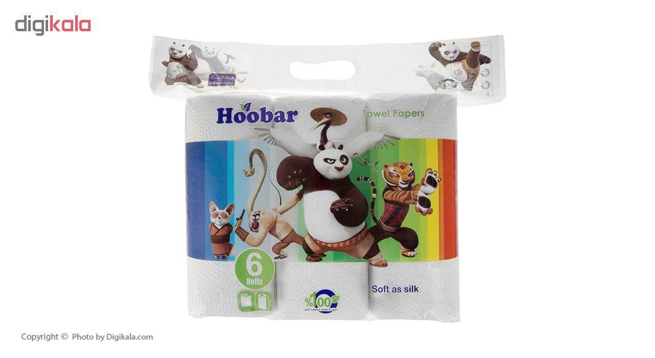 دستمال حوله هوبار مدل Panda بسته 6 عددی main 1 1