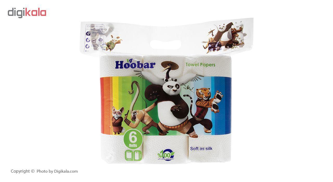 دستمال حوله هوبار مدل Panda بسته 6 عددی main 1 3