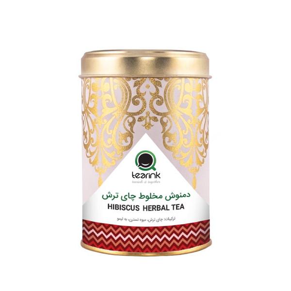 دمنوش مخلوط چای ترش تیرینک مقدار 80 گرم