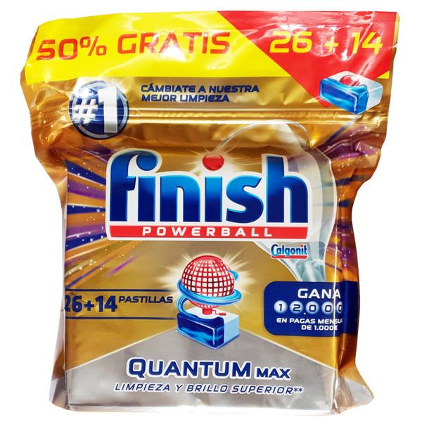 قرص ماشین ظرفشویی فینیش مدل Quantum Max بسته 40 عددی